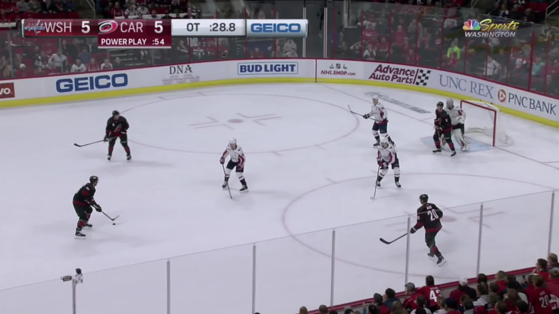 Caps player waves puck GIFs