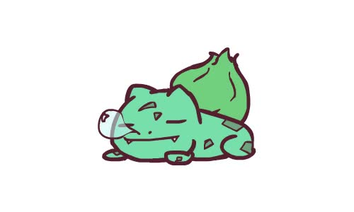 Watch and share Bulbasaur animated stickers on Gfycat