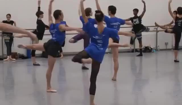 Watch ballet GIF on Gfycat. Discover more ballet, dance GIFs on Gfycat