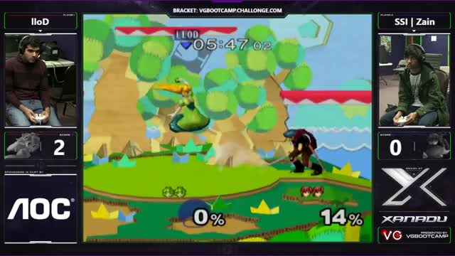 S@X Monthly - lloD (Peach) Vs. SSI | Zain (Marth) - SSBM Losers Finals - Smash Melee