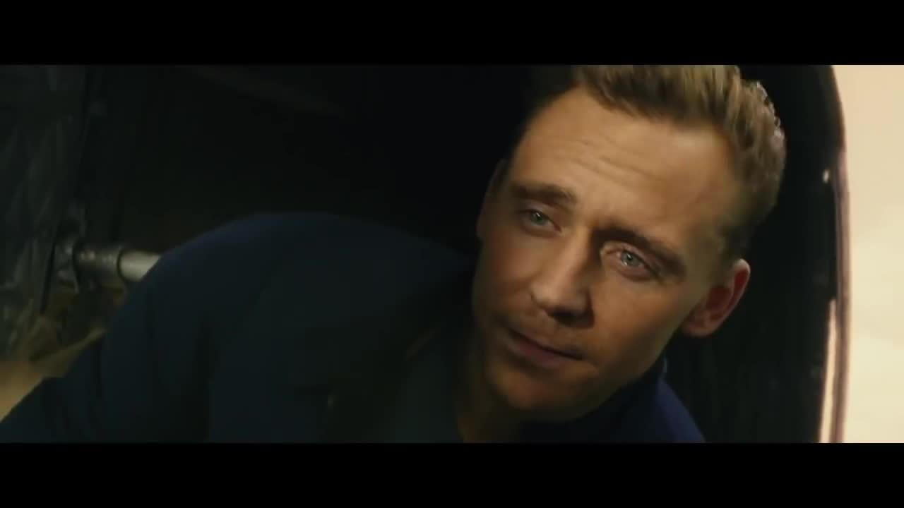 brie larson, harambe, king kong, tom hiddleston, Kong: Skull Island Trailer (2017) - Brie Larson, Tom Hiddleston GIFs