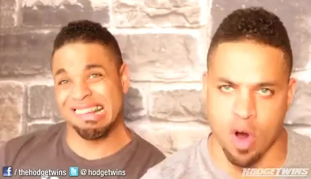Watch and share Funny Faces GIFs and Hodgetwins GIFs on Gfycat