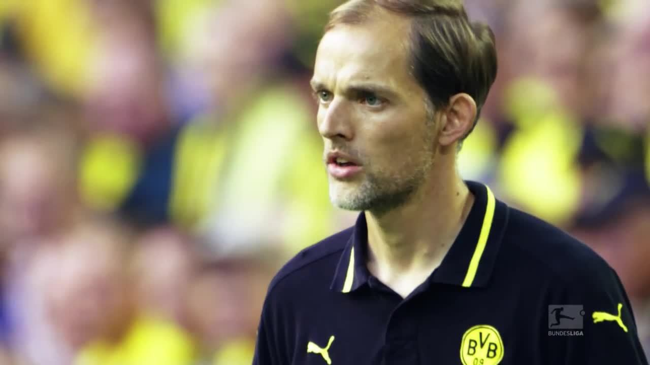 borussiadortmund, Thomas Tuchel embracing goal three (reddit) GIFs