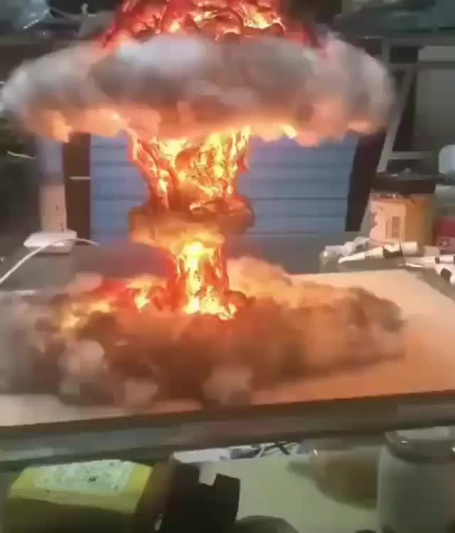 Watch and share Explosion GIFs and Lamp GIFs by mossberg91 on Gfycat