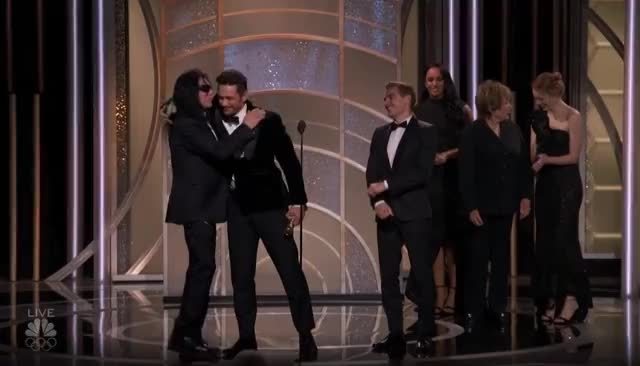 Watch this golden globes GIF by GIF Reactions (@visualecho) on Gfycat. Discover more Dave Franco, Golden Globes, GoldenGlobes, James Franco, Tommy Wiseau GIFs on Gfycat