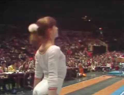Watch and share Nadia Comaneci GIFs and Gymnastics GIFs on Gfycat
