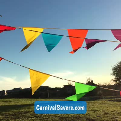 Watch and share Outdoor Decoration GIFs and Hanging Flags GIFs by Carnival Savers on Gfycat