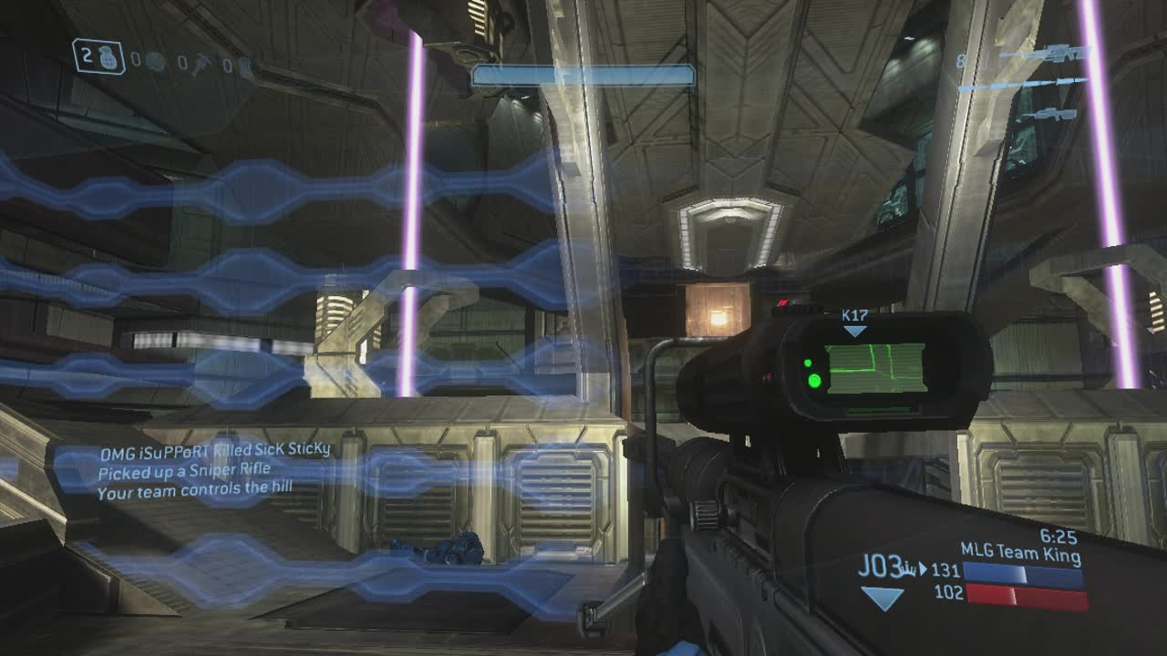 ▷ Halo 3 - Narrows - Man Cannon 6 - Snipers - A2G GIF by