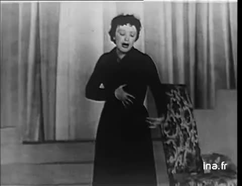 "Watch and share Edith Piaf ""L'accordéoniste"" 