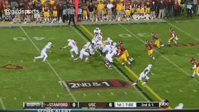 Watch and share USC Touchdown GIFs on Gfycat