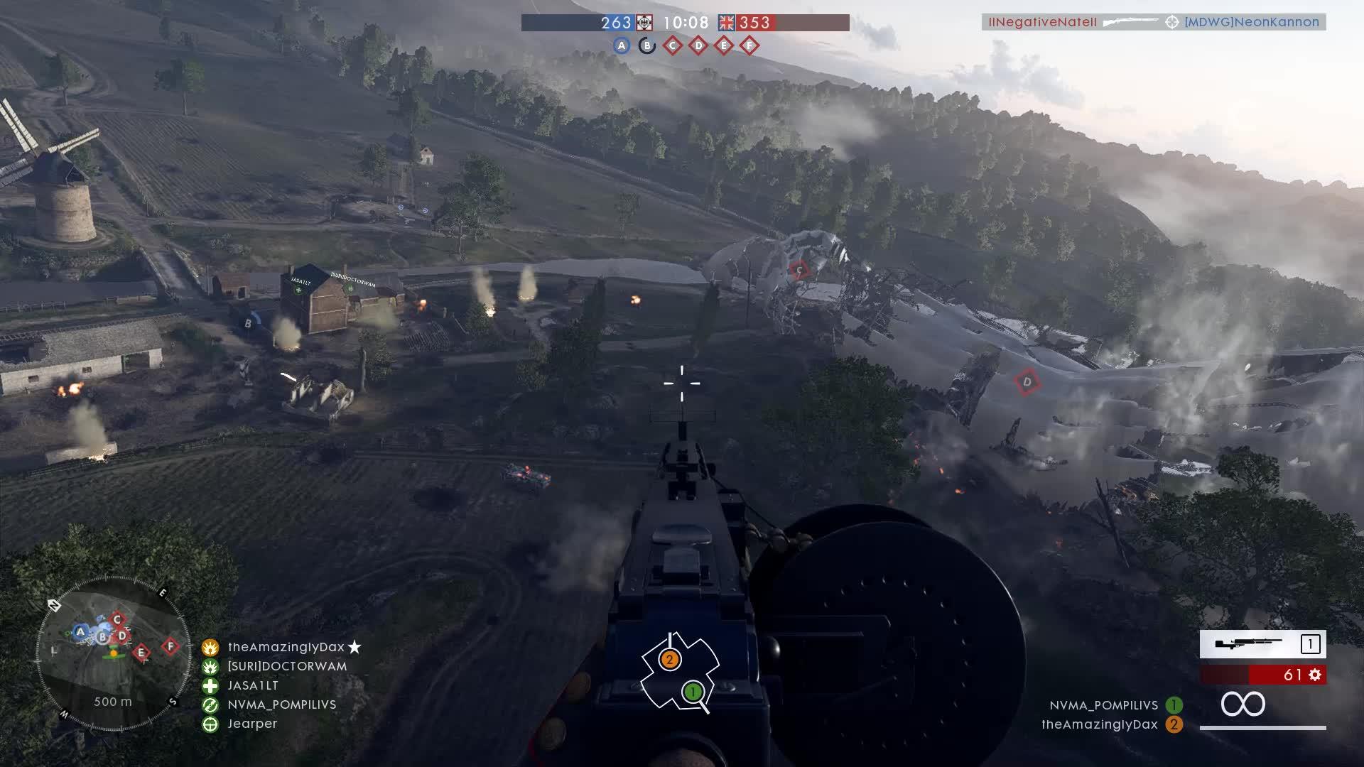 battlefield1, Tank Hunter Airplane Tagteam GIFs
