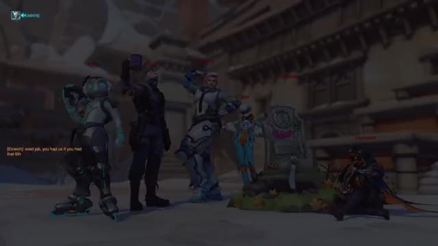 Watch Mint Rein GIF by L1FEREMAINING (@l1feremaining) on Gfycat. Discover more Overwatch, funny, potg GIFs on Gfycat