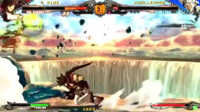 Watch GGXrdR 2/4/16 - Mocchi (Sol) Matches GIF on Gfycat. Discover more ggxrd, guilty gear, youtube editor GIFs on Gfycat