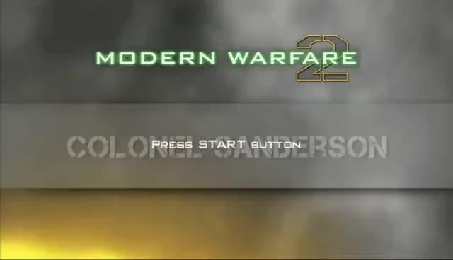 call, chicken, colonel, duty, modern, sanderson, warfare, MW2 GIFs