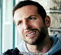 Watch and share Bradley Cooper GIFs on Gfycat