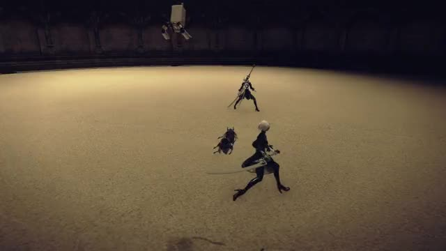Watch and share Nier Automata GIFs by Arasutoru on Gfycat