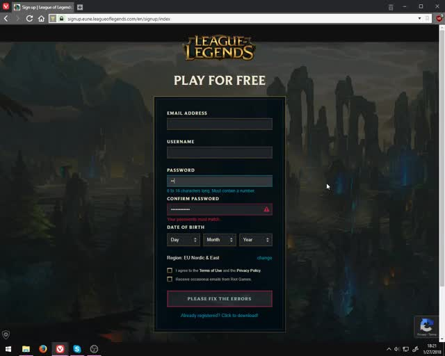 Watch and share League Of Legends' Registration  GIFs by Dimitar Dimitrov on Gfycat