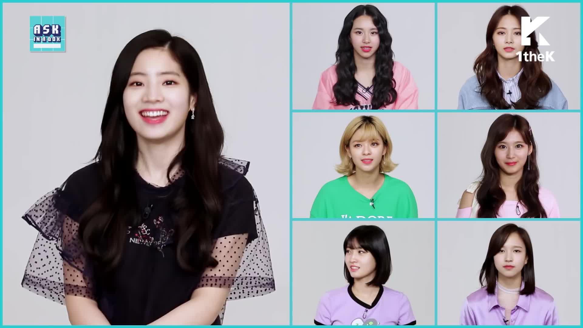 1theK, Kpop, MV, Teaser, dahyun, dubu, loen, sana, twice, 로엔, 뮤비, 신곡, 원더케이, 티져, Dahyun TWICE(트와이스) _ What is Love? GIFs