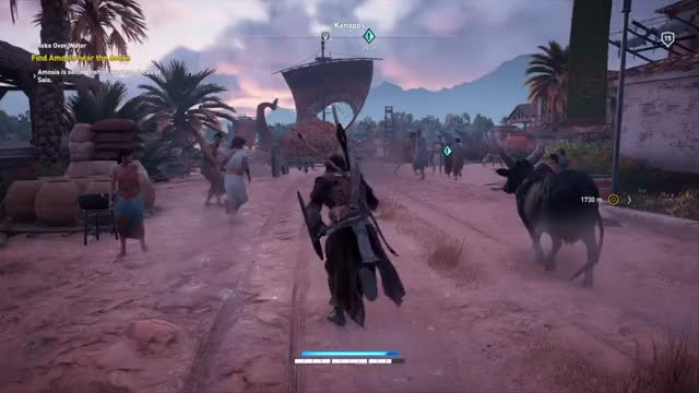 Watch and share Assassin's Creed® Origins 20171227182026 1 GIFs on Gfycat