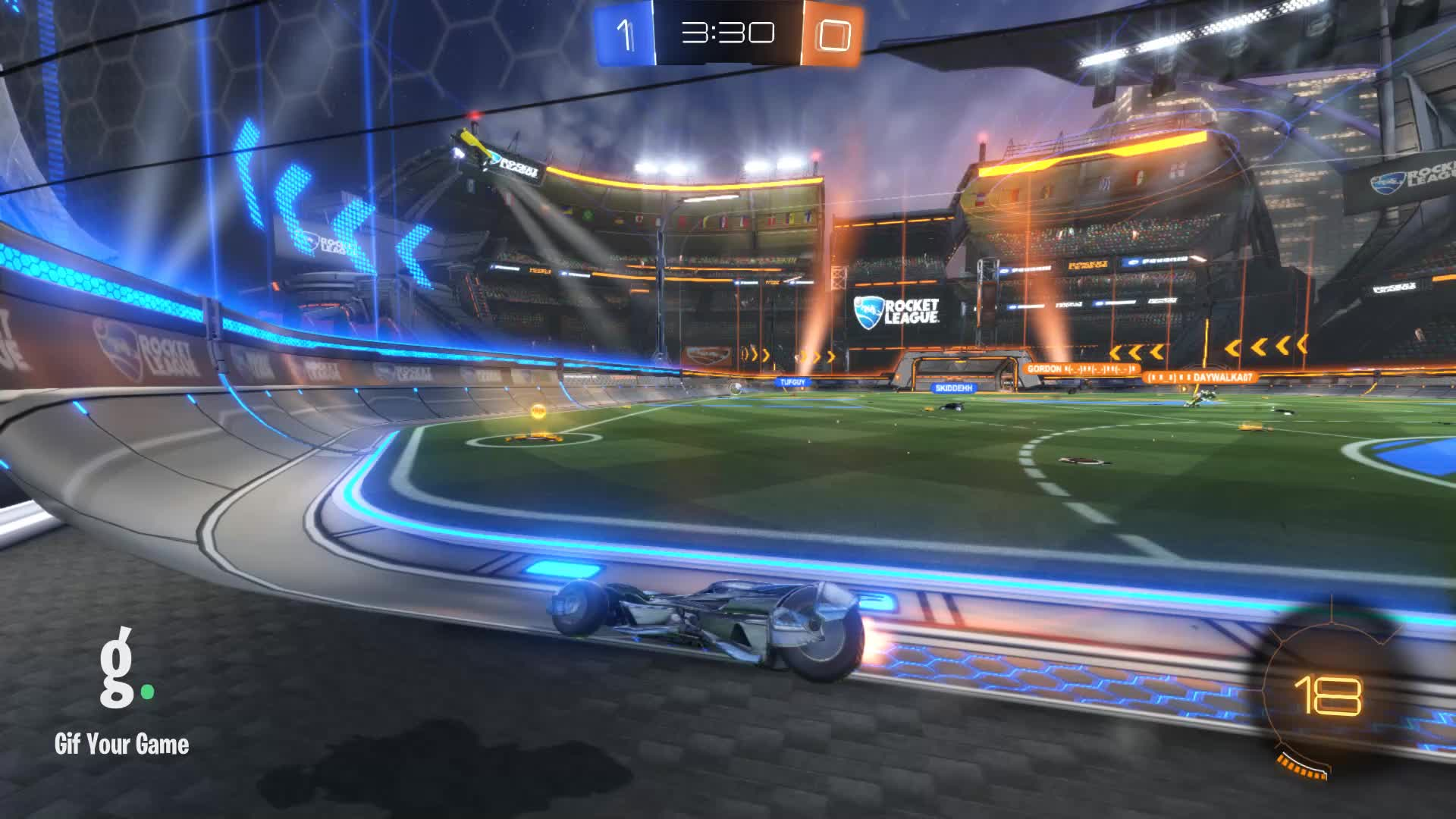 Gif Your Game, GifYourGame, Goal, Goldfish, Rocket League, RocketLeague, Goal 2: Goldfish GIFs
