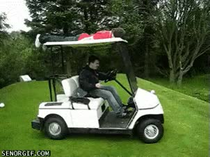 Watch and share Golf Cart GIFs on Gfycat