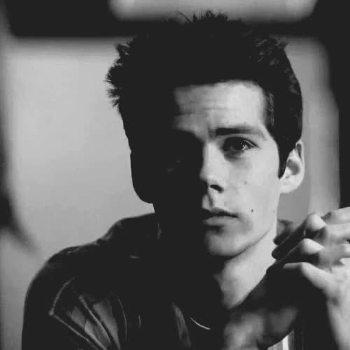 Watch and share Black And White, Boy, Gif, Teen Wolf GIFs on Gfycat