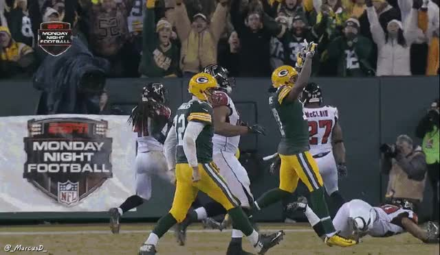 Watch and share Aaron Rodgers Had Special Reason Behind GIFs on Gfycat