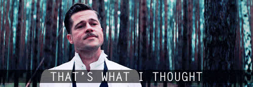 brad pitt, inglourious basterds, Brad Pitt Inglourious Basterds GIFs