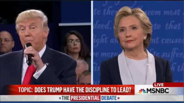 Watch and share Hillary Clinton GIFs and Donald Trump GIFs by politicalnewsgifs on Gfycat