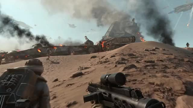 Watch and share Battlefront GIFs and Starwars GIFs by dkastro89 on Gfycat