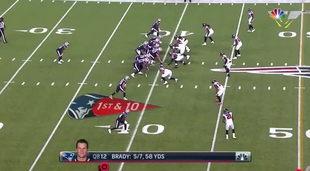 Watch and share 8 Lewis 25yd Rush.mov GIFs on Gfycat