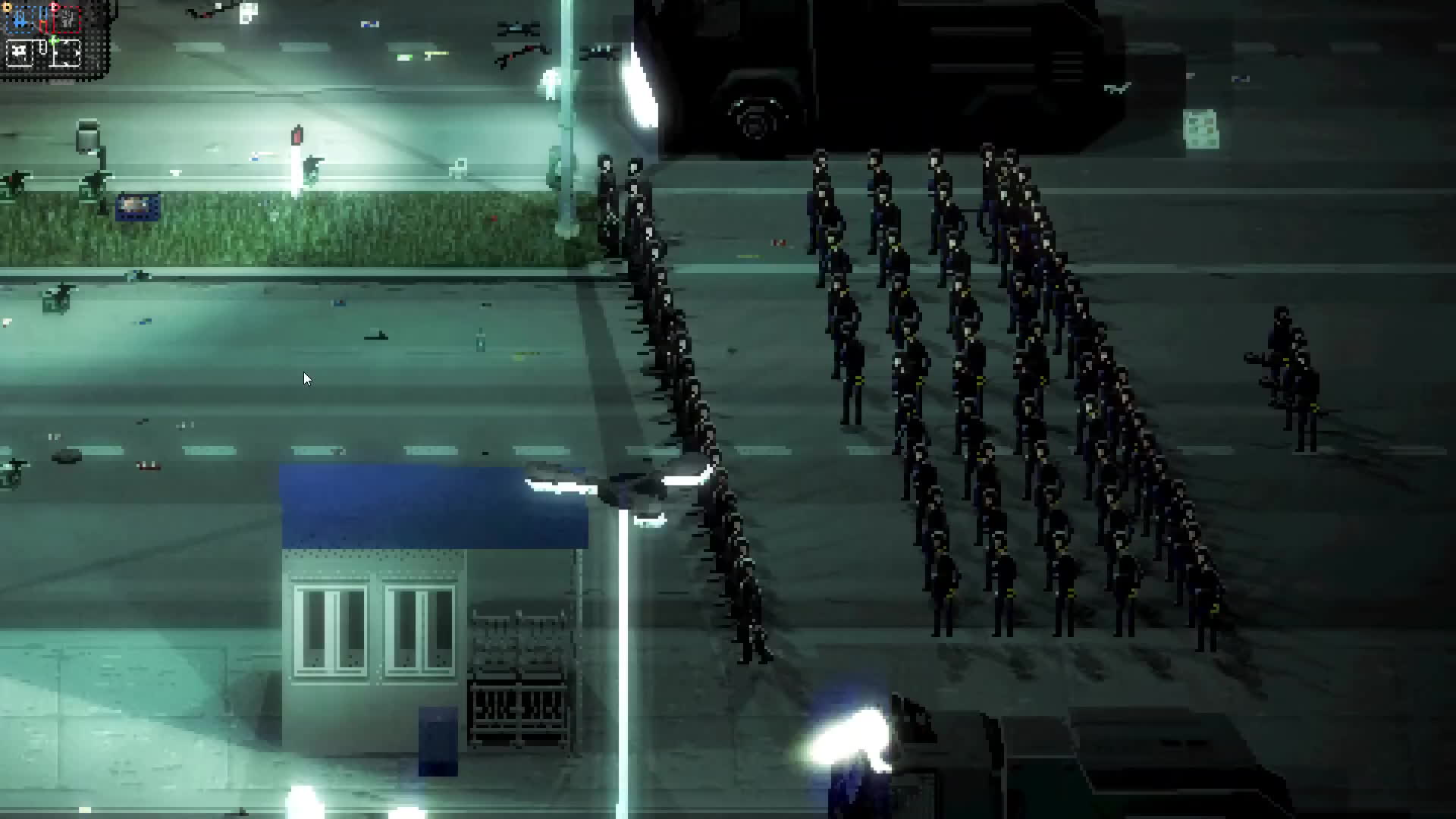 civil, game, games, linux, mac, merge, osx, pax, pc, playstation, riot, sim, simulation, unrest, xbox, RIOT - Civil Unrest (Gameplay from PAX East 2016) GIFs