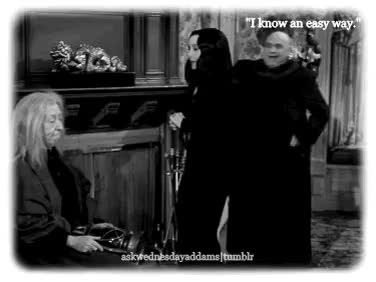 Watch I'm Wednesday. GIF on Gfycat. Discover more addams family, askwednesdayaddams' gif, fester addams, grandmama addams, lurch, morticia, morticia addams, morticia the breadwinner, pugsley, s02xe04 GIFs on Gfycat