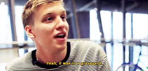 Watch and share George Ezra GIFs and Interview GIFs on Gfycat