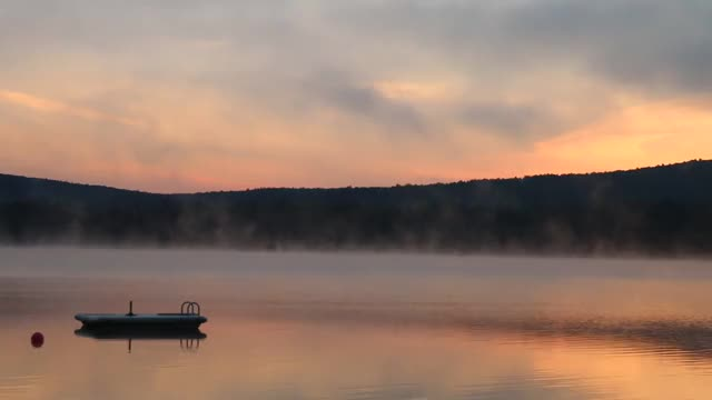 Watch and share Sunrise On Crystal Lake, NH GIFs by mjcfromct on Gfycat