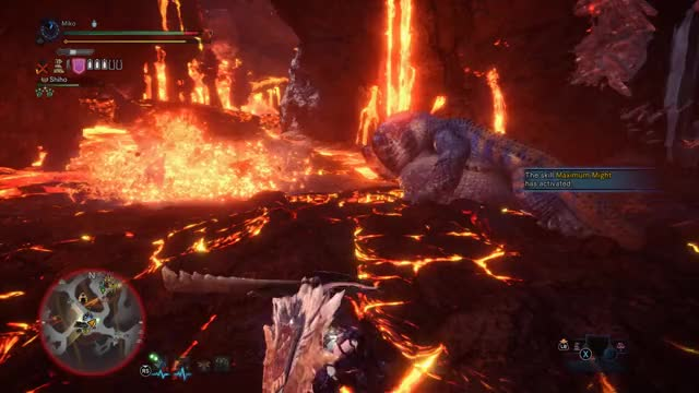 Watch and share Surprise Lavasioth GIFs by theneverendinggame on Gfycat
