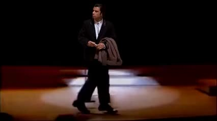 Confused travolta does the Michael Jackson moonwalk GIFs