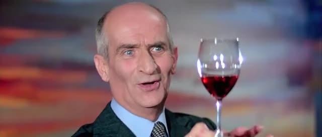 Watch and share Louis De Funès: L'Aile Ou La Cuisse (1976) - Le Vin, C'est La Terre GIFs on Gfycat