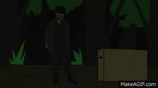 Watch and share Metal Gear Solid 2 Animation  - Cardboard Box GIFs on Gfycat