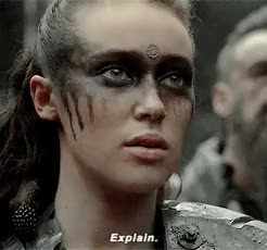 Watch The 100 GIF on Gfycat. Discover more *, 2x09, clarke griffin, commander lexa, the100daily, the100edit, the100spoilers, victor GIFs on Gfycat