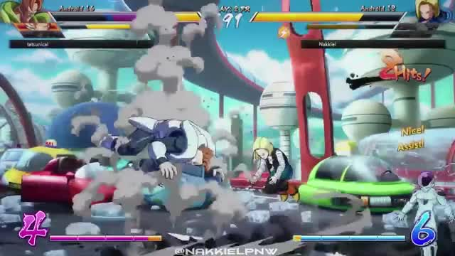 Watch and share Dbfz High Lvl Play GIFs and Dbfz Compilations GIFs on Gfycat