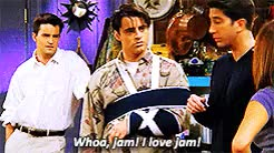 Watch and share Friends Rewatch GIFs and Joey Tribbiani GIFs on Gfycat