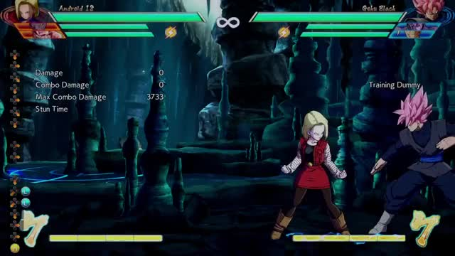 Watch -2- Android 18 #DBFZ GIF by @seras- on Gfycat. Discover more related GIFs on Gfycat