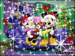 Watch and share Mickey And Minnie Mouse Christmas GIFs on Gfycat