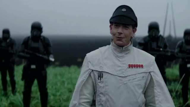 Watch and share Benjamin Mendelsohn GIFs and Star Wars Rogue One GIFs by Percil on Gfycat