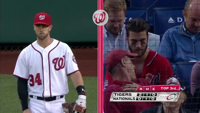 Watch and share Harper's Look-alike In The Crowd GIFs on Gfycat