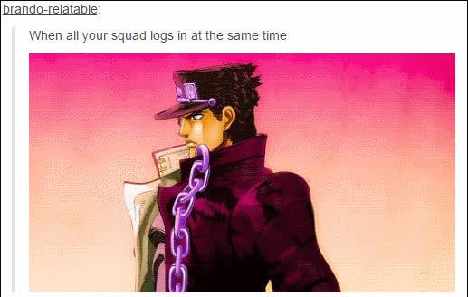 anime, jojo, memes, Jojo GIFs