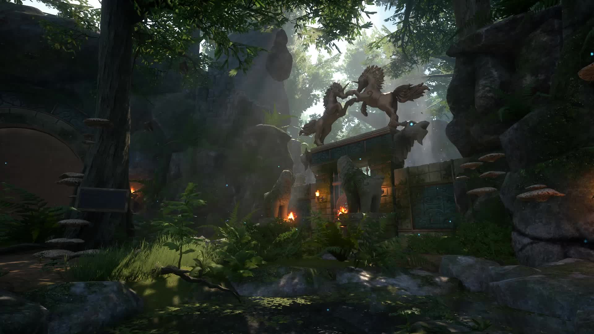 XING: The Land Beyond - Zeneth Forest Gate GIFs