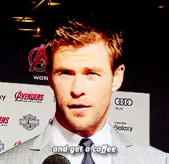 Watch and share Chris Hemsworth GIFs and Age Of Ultron GIFs on Gfycat