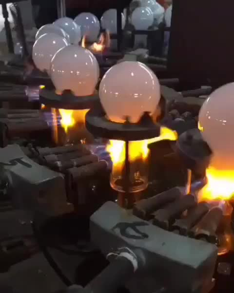 Watch and share Lightbulb Manufacturing GIFs by Boojibs on Gfycat